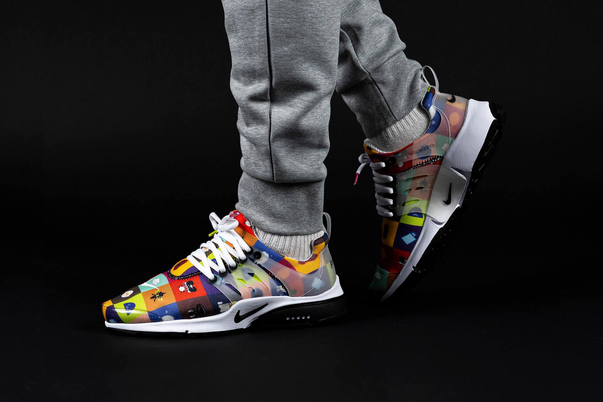 zeigt Air Presto von Nike